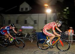 Gasper Katrasnik and Aldo Ino Ilesic at Night Criterium - Kranj 2016, on July 30, 2016 in Kranj, Slovenia. Photo by Vid Ponikvar / Sportida