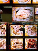 Local delicacies at Lau Pa Sat hawker center