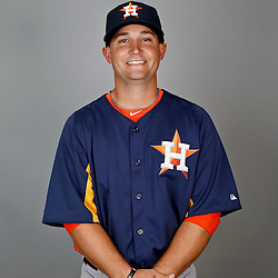 Feb 21, 2013; Kissimmee, FL, USA; Houston Astros catcher Ryan McCurdy during photo day at Osceola County Stadium. Mandatory Credit: Derick E. Hingle-USA TODAY Sports