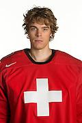 31.07.2013; Wetzikon; Eishockey - Portrait Nationalmannschaft; Jonas Hiller (Valeriano Di Domenico/freshfocus)