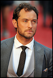 Jude Law arrives for the - UK film premiere of Anna Karenina, London, Tuesday September 4, 2012 Photo Andrew Parsons/i-Images..All Rights Reserved ©Andrew Parsons/i-Images<br />