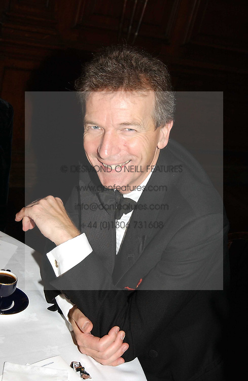 The British Antiques Dealers Association's Biennial Banquet held at Armoury House, HAC, City Road, London EC1 on 25th November 2004.<br />Picture shows CLIVE ASLETT.