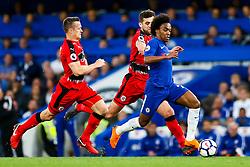 Willian of Chelsea - Rogan/JMP - 09/05/2018 - FOOTBALL - Stamford Bridge - London, England - Chelsea v Huddersfield Town - Premier League.
