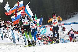 Jakov Fak (SLO) during the Mixed Relay 2x 6 km / 2x 7,5 km at day 3 of IBU Biathlon World Cup 2019/20 Pokljuka, on January 23, 2020 in Rudno polje, Pokljuka, Pokljuka, Slovenia. Photo by Peter Podobnik / Sportida
