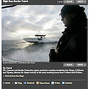 TIME Magazine assignment. Print and online essay about Customs & Border Protection agents patrolling the sea for migrants and smugglers.