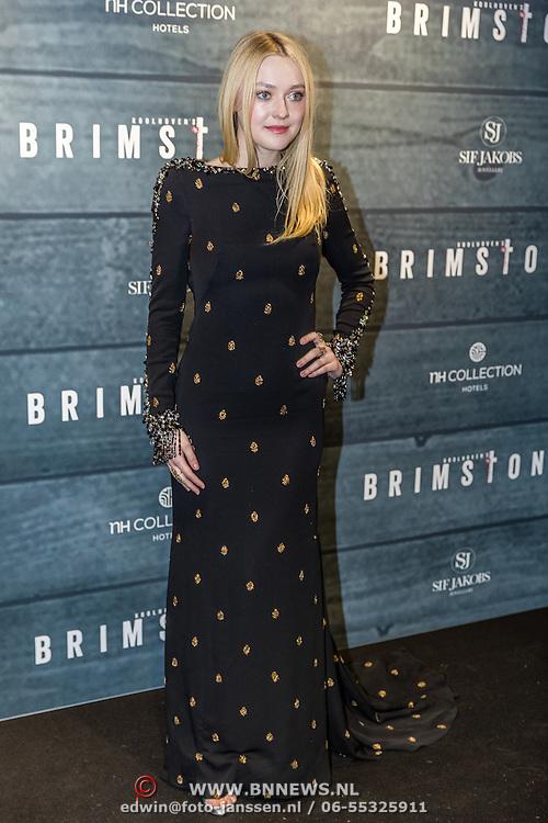 NLD/Amsterdam/20170109 - Brimstone première, Dakota Fanning