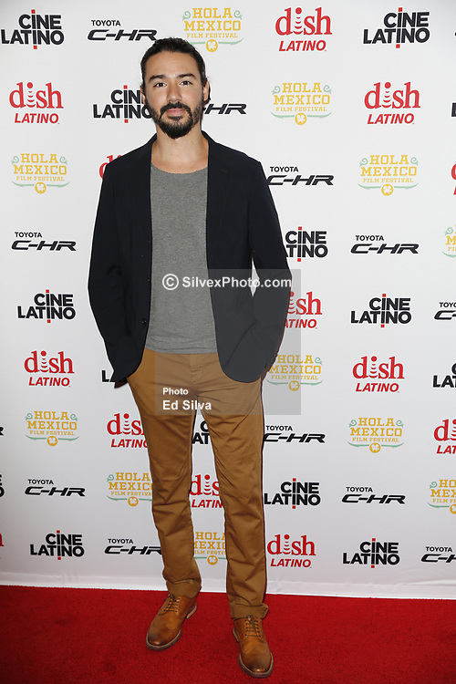 LOS ANGELES, CA - JUNE 7 Cesar Rodriguez attends the 9th Annual Hola Mexico Film Festival Opening Night at the Regal LA LIVE in downtown Los Angeles, on June 7, 2017 in Los Angeles, California. Byline, credit, TV usage, web usage or linkback must read SILVEXPHOTO.COM. Failure to byline correctly will incur double the agreed fee. Tel: +1 714 504 6870.