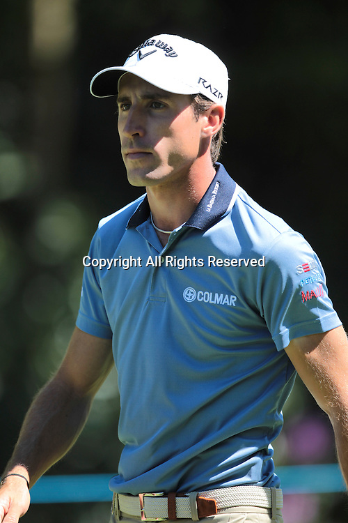 26.05.2012 Wentworth, England. Federico Colombo (ITA) in action during the BMW PGA Championship. Saturday, day 3 of competition.