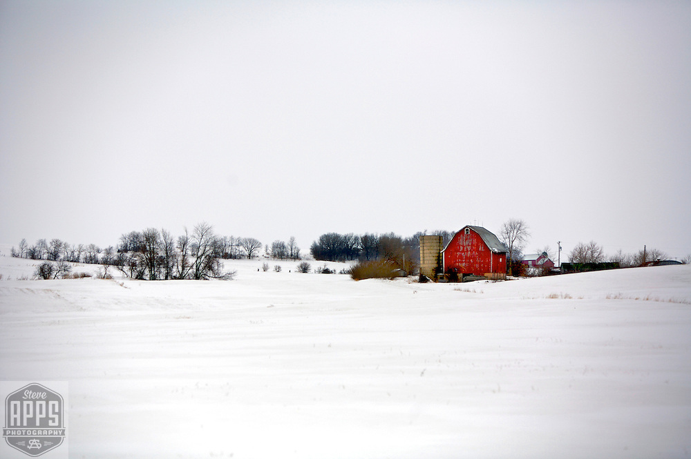Farmstead in Southern Wisconsin.