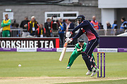 Joe Root of England during the One Day International match between England and Ireland at the Brightside County Ground, Bristol, United Kingdom on 5 May 2017. Photo by Andrew Lewis.