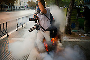 Austerity Measures Protest - Greece