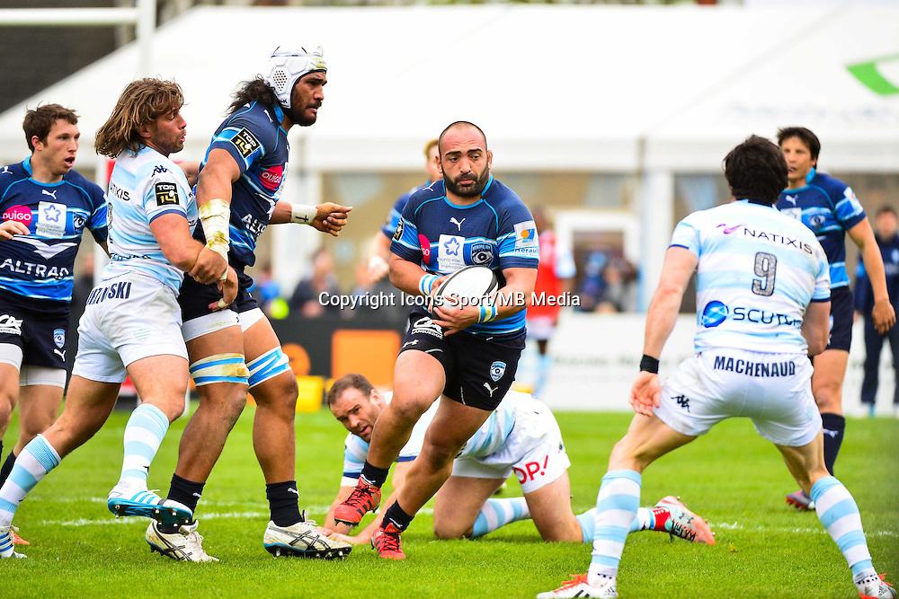 Misha NARIASHVILI  - 11.04.2015 - Racing Metro / Montpellier  - 22eme journee de Top 14 <br />Photo : Dave Winter / Icon Sport