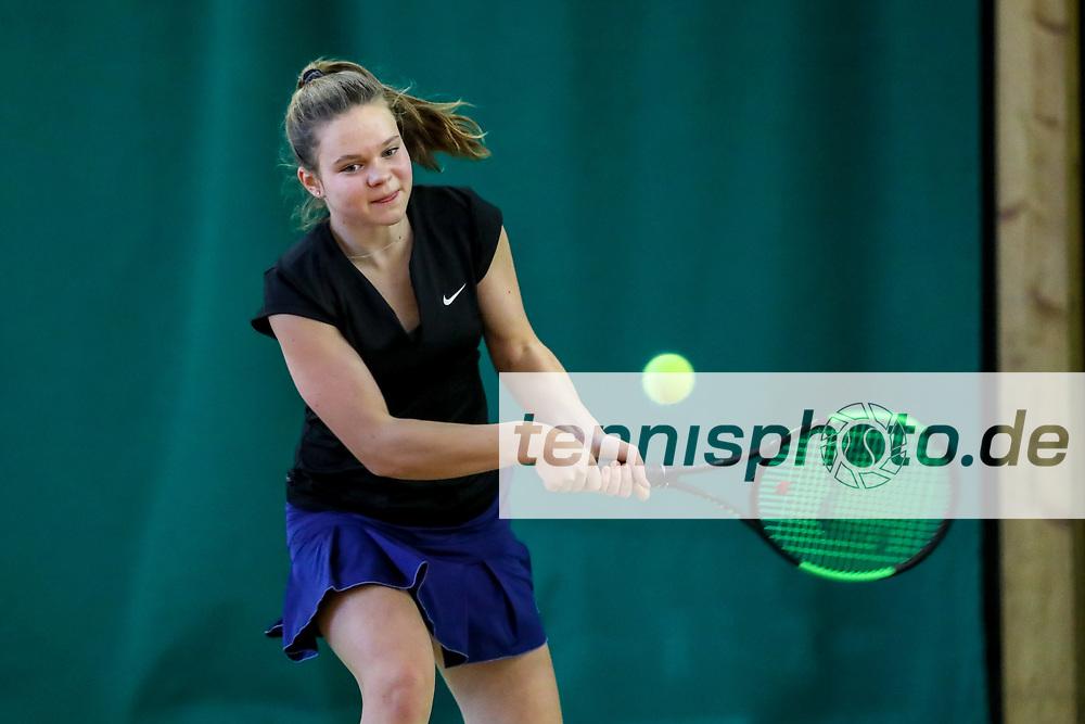 Helena Buchwald (TC Grün-Weiß Berlin-Lankwitz), TVBB-Jugendhallenmeisterschaften 2018 U12 und U14, Seeburg, 21.01.2018, Foto: Claudio Gärtner
