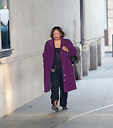 Andrew Marr Show arrivals at Broadcasting House, BBC TV, London, Great Britain <br /> 22nd January 2017 <br /> <br /> <br /> Diane Abbott MP <br /> <br /> <br /> Photograph by Elliott Franks <br /> Image licensed to Elliott Franks Photography Services