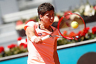 Carla Suarez Navarro during day two of the Madrid Open at Manzanares Park Tennis Centre, Madrid<br /> Picture by EXPA Pictures/Focus Images Ltd 07814482222<br /> 03/05/2016<br /> ***UK &amp; IRELAND ONLY***<br /> EXPA-ESP-160503-0028.jpg