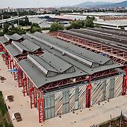 sede della facoltà di Ingegneria dell'automobile del politecnico di Torino nell'ex capannone dello <br /> stabilimento FIAT Mirafiori.<br /> Turin, Fiat Mirafiori Plant