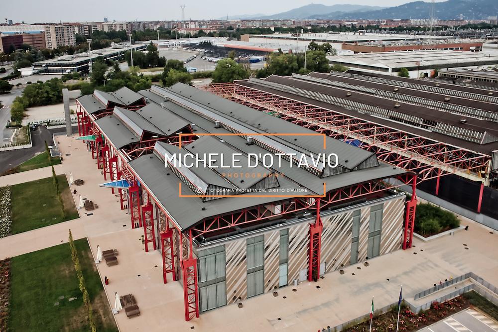 sede della facolt&agrave; di Ingegneria dell'automobile del politecnico di Torino nell'ex capannone dello <br /> stabilimento FIAT Mirafiori.<br /> Turin, Fiat Mirafiori Plant