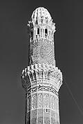 Yemen. Minaret in Sanaa