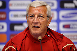 09.06.2010, Pressezentrum, .Centurion, Johannesburg, RSA, FIFA WM 2010, Italien Pressekonferenz im Bild Marcello Lippi., Teamchef Italien, EXPA Pictures © 2010, PhotoCredit: EXPA/ InsideFoto/ G. Perottino, ATTENTION! FOR AUSTRIA AND SLOVENIA ONLY!!! / SPORTIDA PHOTO AGENCY