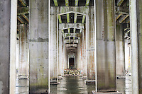 A tunnel created by an interstate over the Chattahoochee River