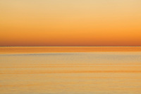 WI00167-00...WISCONSIN - Sunrise over Lake Superior at Wisconsin Point near the towm of Superior.