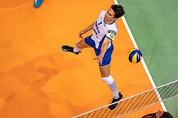 12-05-2019 NED: Abiant Lycurgus - Achterhoek Orion, Groningen<br /> Final Round 5 of 5 Eredivisie volleyball, Orion wins Dutch title after thriller against Lycurgus 3-2 / Frits van Gestel #7 of Lycurgus