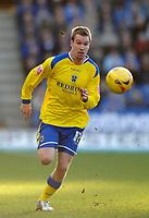 Photo: Glyn Thomas.<br />Leicester City v Cardiff City. Coca Cola Championship. 21/01/2006.<br />Cardiff's Rhys Weston.