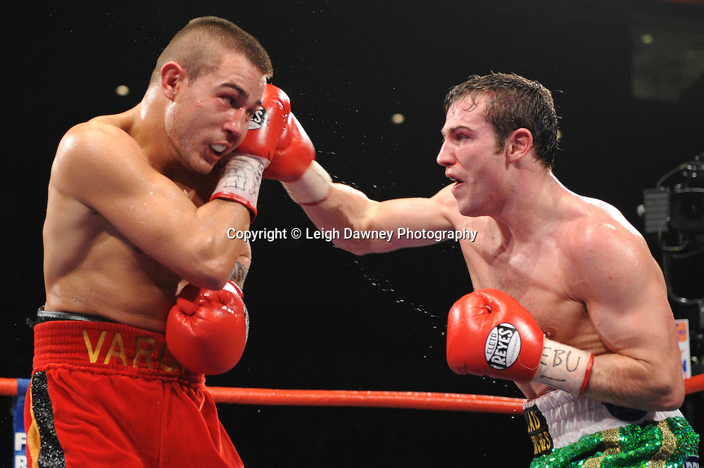 "Matthew Macklin defeats Ruben Varon at the Echo Arena, Liverpool,11th December 2010,Frank Warren.tv Promotions ""Return Of The Magnificent Seven"" © Photo Leigh Dawney"