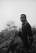 Vietnam, Sapa :  Black H'mong minorities