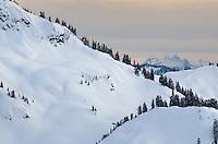 Winter in the North Cascades Washington
