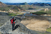 Landmannalaugar in South-Iceland
