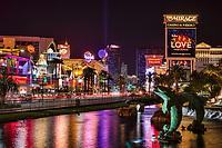 Fountains of Mirage & Las Vegas Boulevard