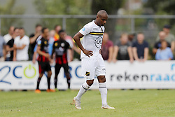 Mikhail Rosheuvel of NAC Breda during the Pre-season Friendly match between NAC Breda and sbv Excelsior Rotterdam at Sportpark De Wildert on July 28, 2018 in Zundert, The Netherlands