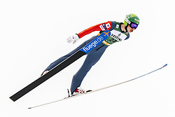 February 8, 2019 - Lahti, Finland - Arttu Mäkiaho competes during Nordic Combined, PCR/Qualification at Lahti Ski Games in Lahti, Finland on 8 February 2019. (Credit Image: © Antti Yrjonen/NurPhoto via ZUMA Press)