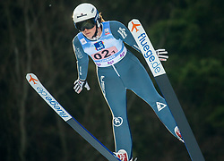 SANKEY Logan (USA) during First round on Day 1 of FIS Ski Jumping World Cup Ladies Ljubno 2020, on February 22th, 2020 in Ljubno ob Savinji, Ljubno ob Savinji, Slovenia. Photo by Matic Ritonja / Sportida