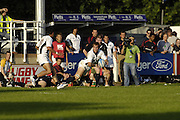 Henley, England, during the Churchill Cup Rugby, Scotland A vs USA Eagles, Dry Leas, Henley on Thames.  Engand [Credit Peter Spurrier/Intersport Images]