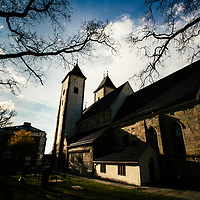 St Mary's Church (Mariakirken) in Bergen, Norway