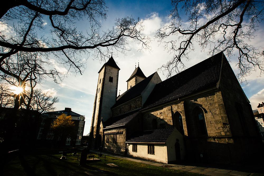 St Mary's Church (Mariakirken) in Bergen, Norway