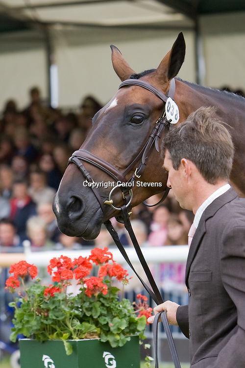 Sam Griffiths at Burghley Horse Triuals 2009