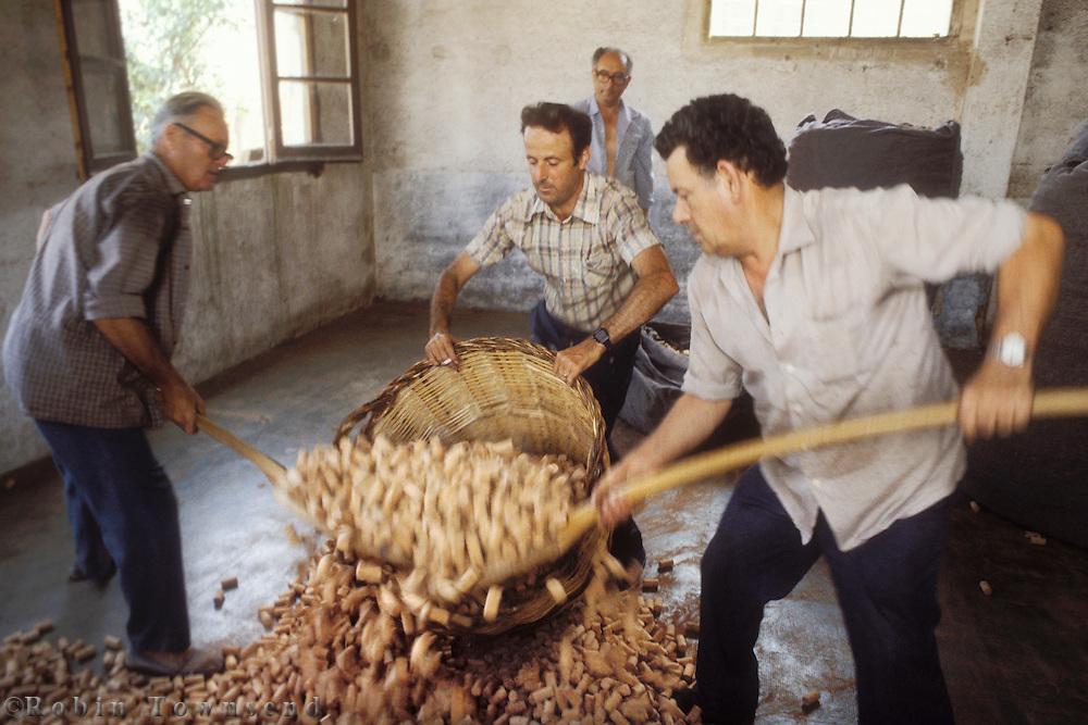 Catalonia's cork industry