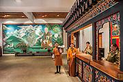 Bhutan, Paro, Zhiwa Ling Hotel, Reception
