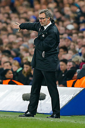 Paris Saint-Germain Manager Laurent Blanc - Photo mandatory by-line: Rogan Thomson/JMP - 07966 386802 - 11/03/2015 - SPORT - FOOTBALL - London, England - Stamford Bridge - Chelsea v Paris Saint-Germain - UEFA Champions League Round of 16 Second Leg.