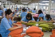 Mongolia. Gobi cashmere factory, the largest cashmere factory in , workshop   Ulanbaatar /   Gobi cachemire , la plus grande societe et usine de cachemire en Mongolie; filature et atelier de fabrication  Oulan Bator - Mongolie