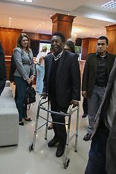 November 17, 2016 - Curitiba, ParanÃ, Brazil - BRAZIL - PARANÁ - Edson Arantes do Nascimento - PELÉ  durante visita em Curitiba no Paraná - Brasil, nesta quinta-feira (17). Foto: Geraldo Bubniak (Credit Image: © Geraldo Bubniak via ZUMA Wire)