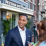NLD/Amsterdam/20181005 - Benefietdiner Kluivert Dog rescue, Patrick Kluivert