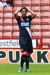 Ayoze Perez of Newcastle United - Mandatory by-line: Matt McNulty/JMP - 26/07/2015 - SPORT - FOOTBALL - Sheffield,England - Bramall Lane - Sheffield United v Newcastle United - Pre-Season Friendly