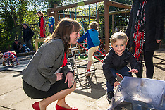 Minister visits nursery to see childcare in action, Edinburgh, 1 May 2018
