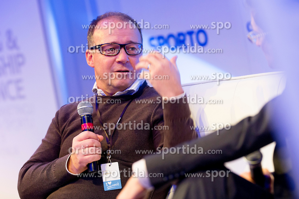 Jure Franko at sports marketing and sponsorship conference Sporto 2013, on November 22, 2013 in Hotel Slovenija, Congress centre, Portoroz / Portorose, Slovenia. Photo by Vid Ponikvar / Sportida