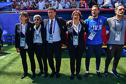 June 30, 2019 - Valenciennes, France - Milena Bertolini (L) of Italy during the quarter-final between in ITALY and NETHERLANDS the 2019 women's football World cup at Stade du Hainaut, on the 29 June 2019. (Credit Image: © Julien Mattia/NurPhoto via ZUMA Press)