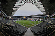 A general view of Stadium:MK before the EFL Sky Bet League 1 match between Milton Keynes Dons and AFC Wimbledon at stadium:mk, Milton Keynes, England on 10 December 2016.